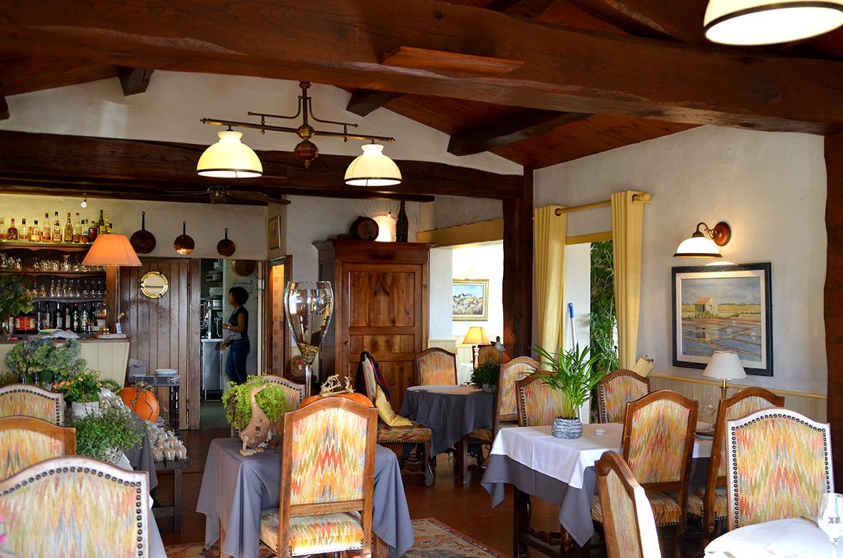 restaurant l'étier salle